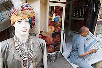 Inde, Rajasthan, Jodhpur la ville bleue. // India, Rajasthan, Jodhpur the blue city.