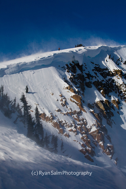 Nat Geo Bowl - One of the zones in the Alpenglow Sidecountry lineup
