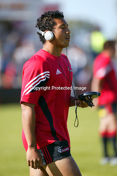 12 February, 2004. Alpine Stadium, Timaru. Super 12 Pre-season. Crusaders v Reds<br />