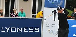 05.06.2014, Country Club Diamond, Atzenbrugg, AUT, Lyoness Golf Open, im Bild Alexander Kleszcz (AUT) // Alexander Kleszcz (AUT) in action during the Austrian Lyoness Golf Open at the Country Club Diamond, Atzenbrugg, Austria on 2014/06/05. EXPA Pictures © 2014, PhotoCredit: EXPA/ Sascha Trimmel