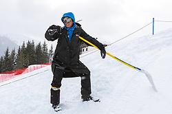 14.02.2020, Zwölferkogel, Saalbach Hinterglemm, AUT, FIS Weltcup Ski Alpin, Super G, Herren, im Bild Markus Waldner (FIS Chef Renndirektor Weltcup Ski Alpin Herren) // Markus Waldner Chief Race Director World Cup Ski Alpin Men of FIS before the men's SuperG of FIS Ski Alpine World Cup at the Zwölferkogel in Saalbach Hinterglemm, Austria on 2020/02/14. EXPA Pictures © 2020, PhotoCredit: EXPA/ Johann Groder
