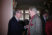 Lord Healey and Peter O'Toole. The Oldie Of The Year Awards,  Simpsons in the Strand, London. 22 March 2005. ONE TIME USE ONLY - DO NOT ARCHIVE  © Copyright Photograph by Dafydd Jones 66 Stockwell Park Rd. London SW9 0DA Tel 020 7733 0108 www.dafjones.com