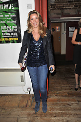 CLAIRE SWEENEY at the gala night party of Losing It staring Ruby Wax held at he Menier Chocolate Factory, 51-53 Southwark Street, London SE1 on 23rd February 2011.