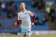 Burnley forward, Ashley Barnes (30)  during the Sky Bet Championship match between Burnley and Leeds United at Turf Moor, Burnley, England on 9 April 2016. Photo by Simon Davies.