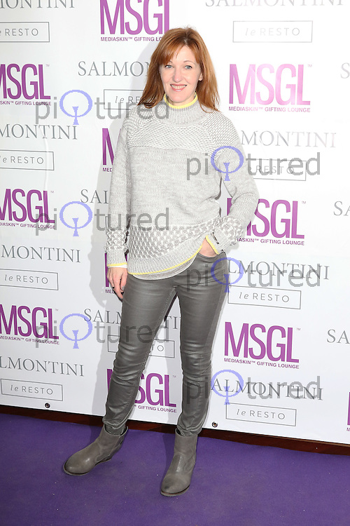 Kacey Ainsworth, MediaSkin Gifting Lounge, Salmontini Le Resto, London UK, 19 January 2015, Photo by Richard Goldschmidt