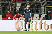 Dele Alli of England after his chance during the International Friendly match between Germany and England at Signal Iduna Park, Dortmund, Germany on 22 March 2017. Photo by Phil Duncan.