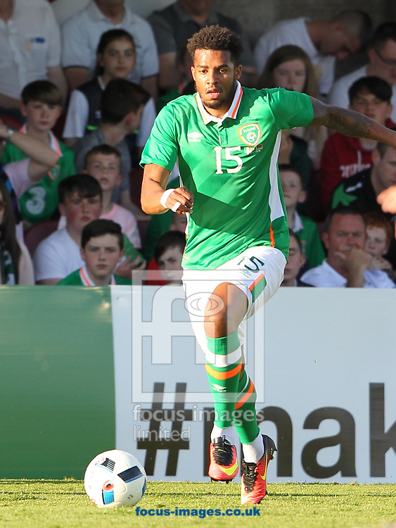 Cyrus Christie of the Republic of Ireland during the International Friendly match at Turners Cross, Cork<br />Picture by Yannis Halas/Focus Images Ltd +353 (87) 2582019<br />31/05/2016
