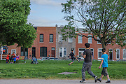 Baltimore, Maryland - May 13, 2015: The Paterson Park area of Baltimore might benefit from the new Community Solar legislation.<br /> <br /> CREDIT: Matt Roth for Earthjustice