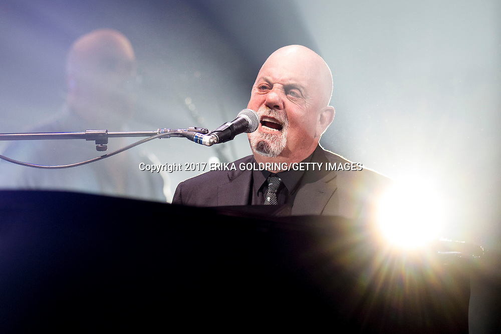 NEW ORLEANS, LA - FEBRUARY 10:  Billy Joel performs at Smoothie King Center on February 10, 2017 in New Orleans, Louisiana.  (Photo by Erika Goldring/Getty Images) *** Local Caption *** Billy Joel