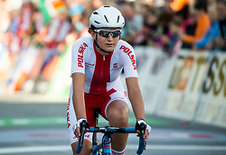 NERLO Aurela of Poland during the Women's Elite Road Race a 156.2km race from Kufstein to Innsbruck 582m at the 91st UCI Road World Championships 2018 / RR / RWC / on September 29, 2018 in Innsbruck, Austria. Photo by Vid Ponikvar / Sportida