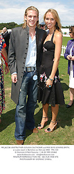 MR JACOBI ANSTRUTHER-GOUGH-CALTHORPE and MISS SKYE GOWRIE-SMITH, at a polo match in Berkshire on 25th July 2004.PXL 223