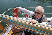 "Vienna. Iouli Andreev, former Chief Liquidator during the Chernobyl nuclear catastrophe. Lives in Vienna with his wife, cat and one remaining lung - and of course with his sailing boat at the ""Alte Donau""."