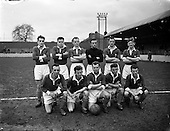 1957 - Soccer: Drumcondra v Cork Hibernians at Tolka Park