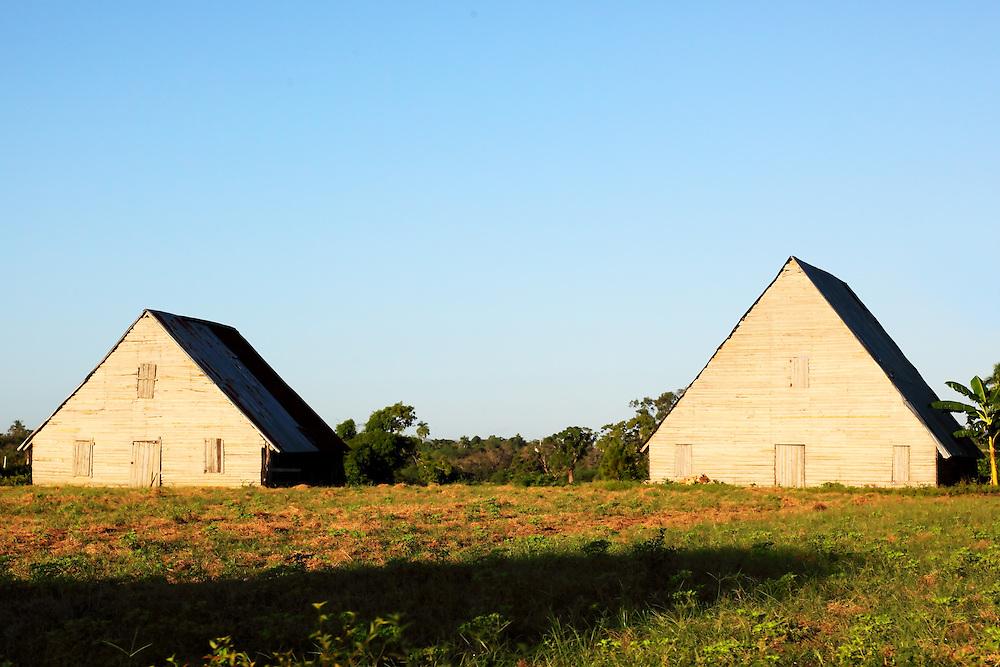 Barns near San Luis, Pinar del Rio, Cuba.