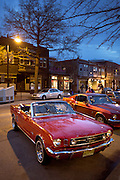 An image from the first Collingwood Cruise Night of the year 2015.  Collingwood Cruise Night occurs on the third Thursday of the month from April to October.  The year 2015 marks the 10th season for Collingwood's Cruise Night.