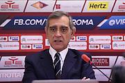 Roma 03.02.2017<br /> Conferenza stampa Claudio Toti<br /> Virtus Roma<br /> <br /> Foto Ciamillo-Castoria