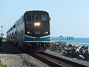 Metrolink Train Route Through San Clemente California