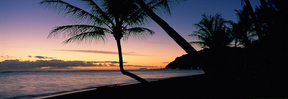 Sunrise, Windward Oahu, Oahu, Hawaii, USA<br />