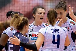 17-05-2016 JAP: OKT Dominicaanse Republiek - Italie, Tokio<br /> Italië verslaat Dominicaanse Republiek  met 3-0 / Serena Ortolani, Anna Danesi #20 of Italie