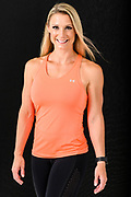 Fitness trainer Shana Verstegen is pictured in a studio portrait in Madison, Wis., on July. 21, 2019. (Photo by Jeff Miller, www.jeffmillerphotography.com)