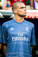 Real Madrid's player Pepe during a match of La Liga Santander at Santiago Bernabeu Stadium in Madrid. August 27, Spain. 2016. (ALTERPHOTOS/BorjaB.Hojas)
