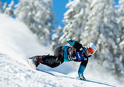Selina Joerg of Germany competes during Qualification Run of Ladies' Parallel Giant Slalom at FIS Snowboard World Cup Rogla 2015, on January 31, 2015 in Course Jasa, Rogla, Slovenia. Photo by Vid Ponikvar / Sportida