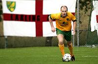 Fotball<br /> Treingskamp Friendly<br /> 19.07.08<br /> Sjövalla Stadion<br /> Ahlafors IF - Norwich City<br /> Gary Doherty<br /> Foto - Kasper Wikestad