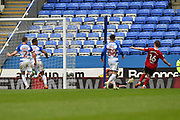 Goal - Callum Connolly (16) of Ipswich Town scores a goal to give a 0-4 lead to the away team during the EFL Sky Bet Championship match between Reading and Ipswich Town at the Madejski Stadium, Reading, England on 28 April 2018. Picture by Graham Hunt.