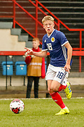 Connor Barron (Aberdeen) during the U17 European Championships match between Scotland and Poland at Firhill Stadium, Maryhill, Scotland on 26 March 2019.