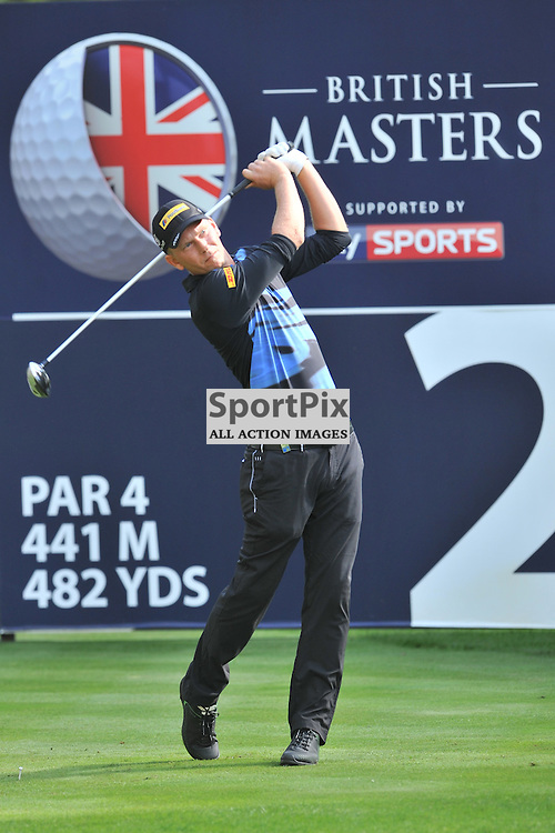 Marcel Siem, Germany, British Masters, European Tour, Woburn Golf Club, 8th October 2015