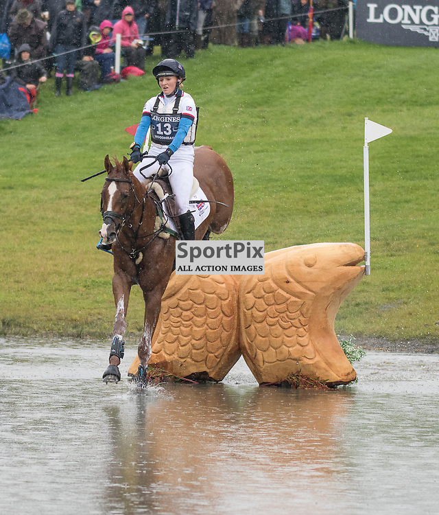 Holly Woodhead (GBR) on DHI Lupison.  Longines FEI European Eventing Championship 2015, Blair Castle, 12th September 2015