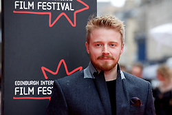 "Jack Lowden, on the red carpet at the Edinburgh International Film Festival world Premier of ""England is Mine"" at Edinburgh's Festival Theatre. Sunday, 2nd July, 2017(c) Brian Anderson 