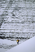Backcountry skiing, Backcountry skier, cross country skiing, Skier, Glacier, Glacier National Park, Montana