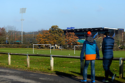 Fans arrive at Allianz Park for Saracens v Sale Sharks - Mandatory by-line: Robbie Stephenson/JMP - 17/11/2018 - RUGBY - Allianz Park - London, England - Saracens v Sale Sharks - Gallagher Premiership Rugby