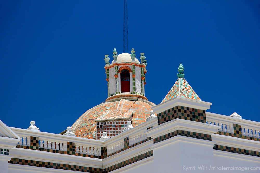 South America, Bolivia, Copacabana. Basilica of Our Lady of Copacabana.