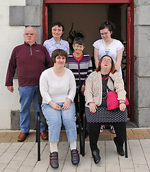 Carrowbeg College Group at the Custom House Studios Westport.<br />Pic Conor McKeown