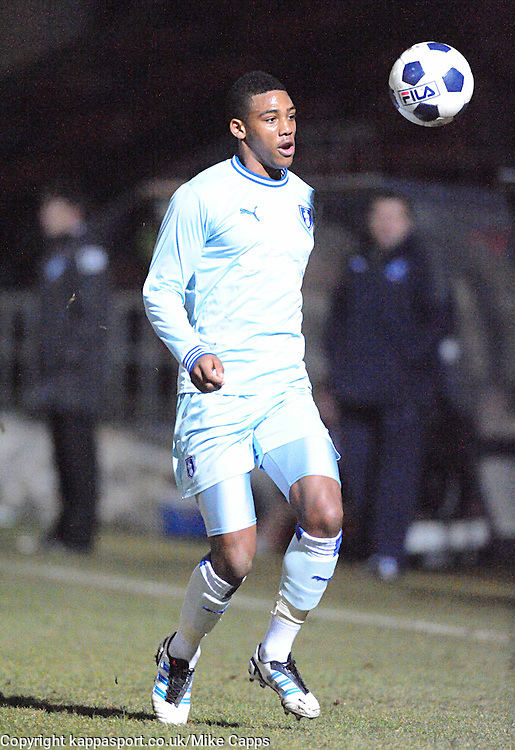 Shaun Jeffers, Coventry City, Kettering Town v Coventry City, Trust, Nene Park  Friendly Wednesday 15th Febuary 2012