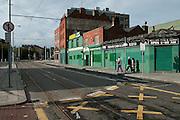Strasse in Dublin