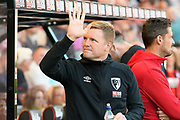 AFC Bournemouth manager Eddie Howe during the Premier League match between Bournemouth and Everton at the Vitality Stadium, Bournemouth, England on 15 September 2019.
