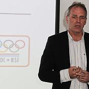 NLD/Amsterdam/20120306 - Presentatie olympisch team NUON - NOC-NSF Vattenfall, Gerard Dielessen, algemeen directeur van NOC*NSF