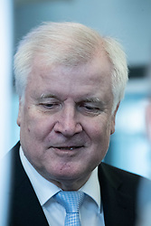December 17, 2018 - Munich, Bavaria, Germany - The German minister of interior, housing and community Horst Seehofer giving a statement after leaving the board meeting of the Christian Social Union ( CSU  (Credit Image: © Alexander Pohl/NurPhoto via ZUMA Press)