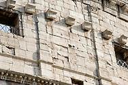 Roma, 29 Luglio  2014<br /> Presentazione della prima fase dei lavori di restauro del Colosseo, lavori sponsorizzati da Diego Della Valle, fondatore e amministratore delegato della società di calzature di lusso Tod's. Una parte del Colosseo restaurata.<br /> Rome, July 29, 2014 <br /> Presentation of the first phase of the restoration of the Colosseum, work sponsored by  Diego Della Valle, founder and chief executive of luxury shoe company Tod's.A part of the Colosseum restored.