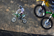 Riders take practice laps at Club Moto in Livermore,CA. (Charles Hall/challphotos.com)