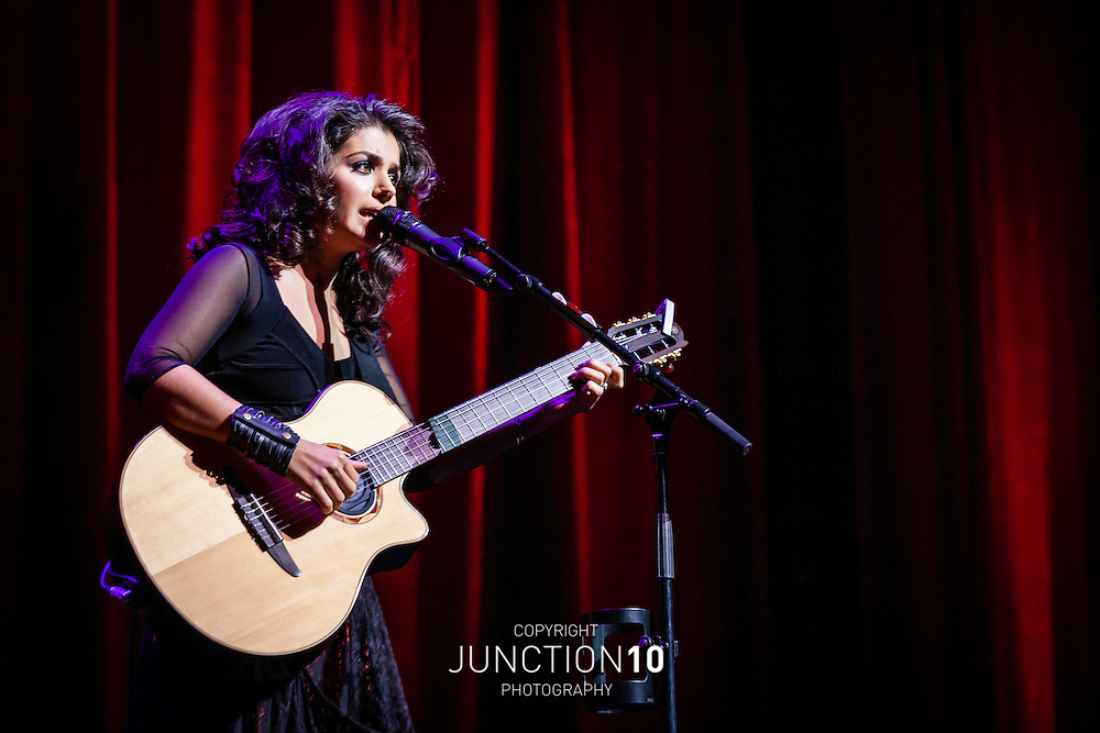Katie Melua performs at the Symphony Hall, Birmingham, United Kingdom.Picture Date: 12 October, 2012