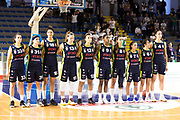 Fixi Piramis Torino team<br /> Passalacqua Trasporti Ragusa - Fixi Piramis Torino<br /> LBF Legabasket Femminile 2017/2018<br /> Ragusa, 01/10/2017<br /> Foto ElioCastoria / Ciamillo - Castoria
