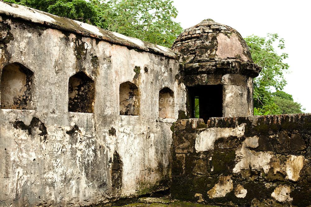 Portobelo ruins in Colon, Panama