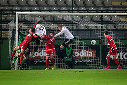 Second goal for Mura during football match between NŠ Mura and NK Aluminij in 17th Round of Prva liga Telekom Slovenije 2019/20, on November 10, 2019 in Fazanerija, Murska Sobota, Slovenia. Photo by Blaž Weindorfer / Sportida