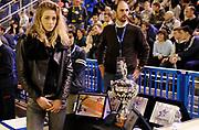 DESCRIZIONE : Vigevano LegaDue All Star Game Eurobet 2013 Est Ovest<br /> GIOCATORE : Madrina<br /> SQUADRA :<br /> EVENTO : LegaDue All Star Game Eurobet 2013<br /> GARA :  All Star Game Eurobet 2013 Est Ovest<br /> DATA : 03/02/2013<br /> CATEGORIA : Presentazione Trofei Premi Coppa<br /> SPORT : Pallacanestro<br /> AUTORE : Agenzia Ciamillo-Castoria/A.Giberti<br /> Galleria : LegaDue All Star Game Eurobet 2013<br /> Fotonotizia : Vigevano LegaDue All Star Game Eurobet 2013 Est Ovest <br /> Predefinita :