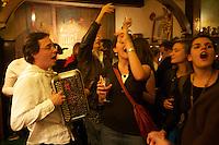 Beaujolais Nouveau Party at Repaire de Cartouche, near Bastille