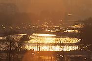 France. Paris. Elevated view on the Seine river. Paris, the seine river and alexandre 3 bridge .  Paris  France  Paris